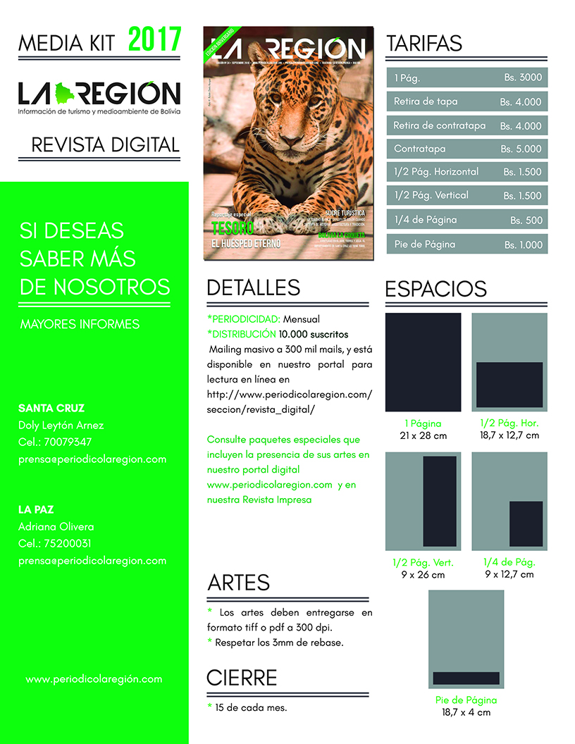 Media Kit La Región RDIGITAL