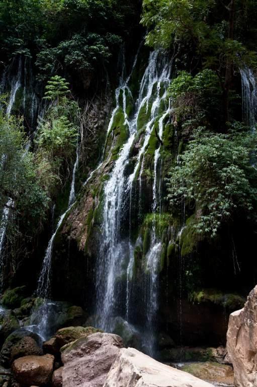 El vergel. Definitivamente este destino tiene el abanico completo de posibilidades de relax y diversión. A sólo 3.5 kilómetros, al fondo del Gran Cañón de Toro Toró, está El Vergel, un verdadero paraíso con caídas de agua cristalina que filtran entre gigantes rocas de unos 70 metros de altura, entre exuberante vegetación.