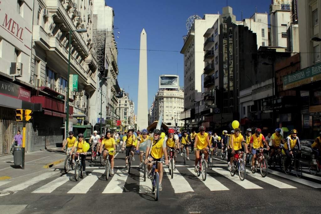 Bicicleteada en la Ciudad - 20 de marzo de 2011