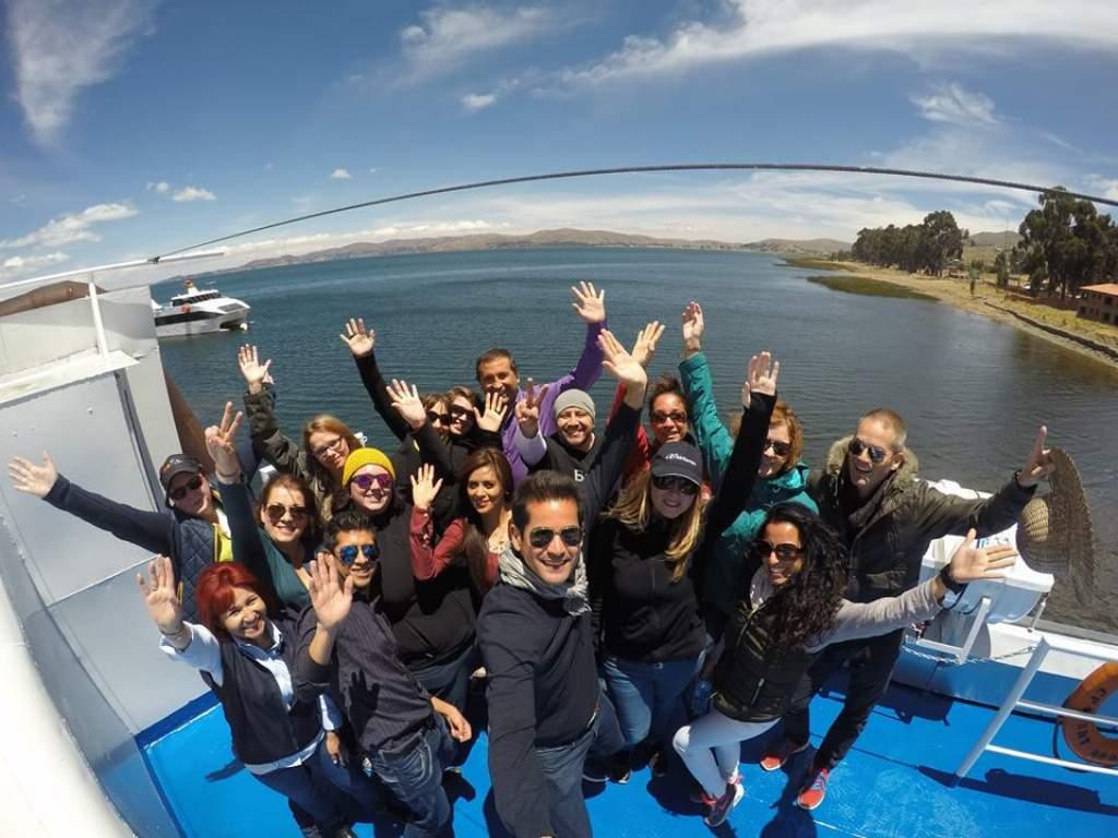 Fam Trip en el Lago Titikaka