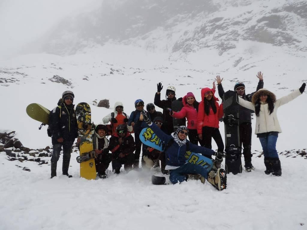 Fue una jornada cargada de emociones y con múltiples actividades para los turistas que disfrutan de la aventura.