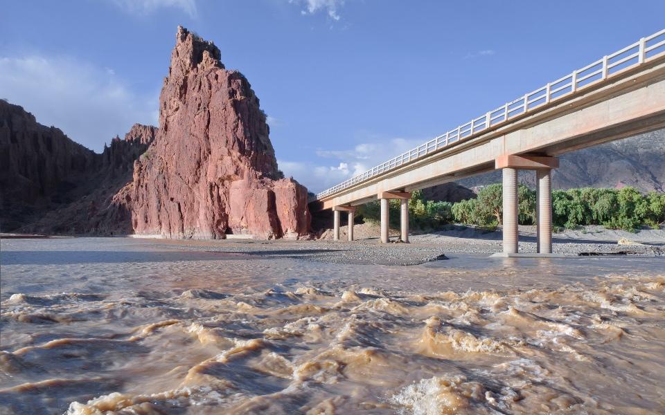 Puente Toroyoj - Río San Juan del Oro