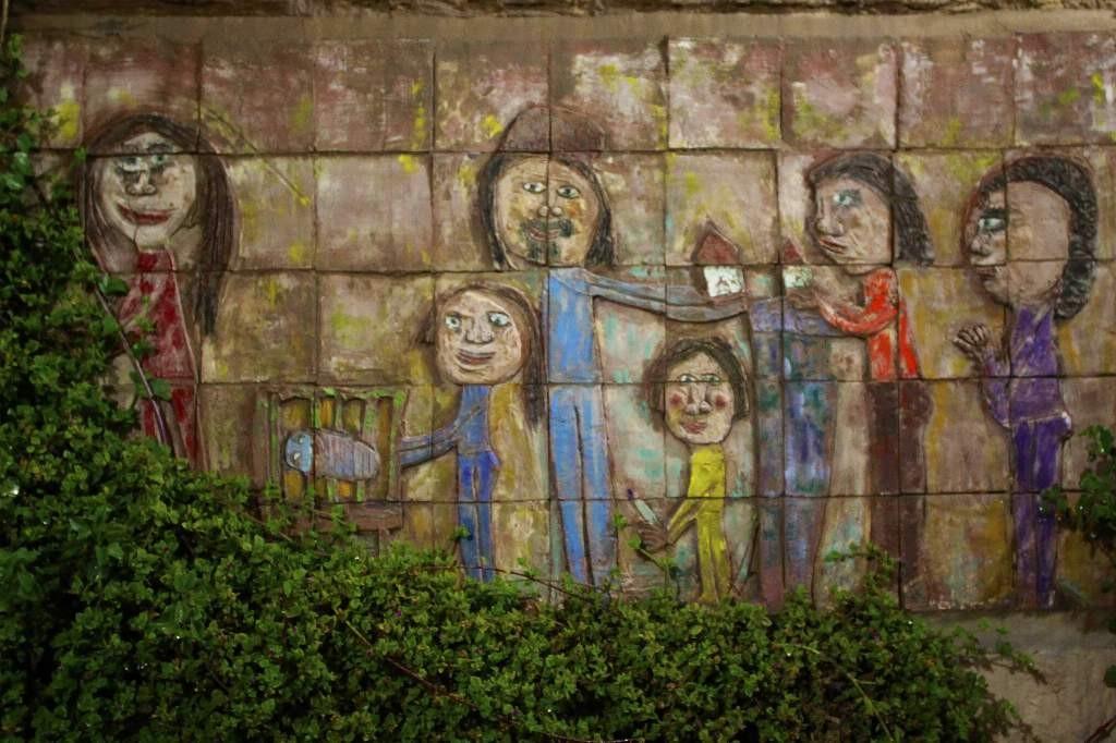 mural familia