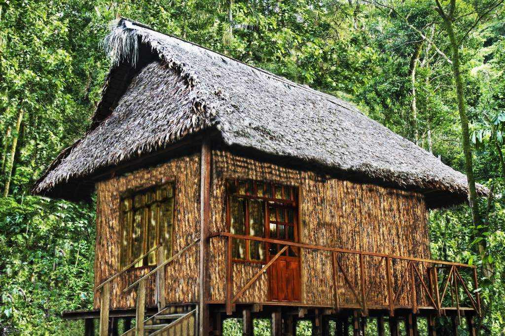 SADIRI cabaña exterior