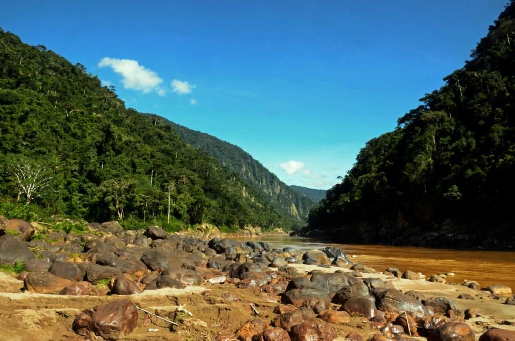 El cañón del Beu Reserva de la Biósfera Pilón Lajas.