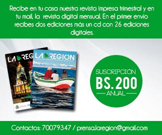 Tu apoyo es importante para nuestro trabajo. suscríbete y recibe nuestra revista impresa.