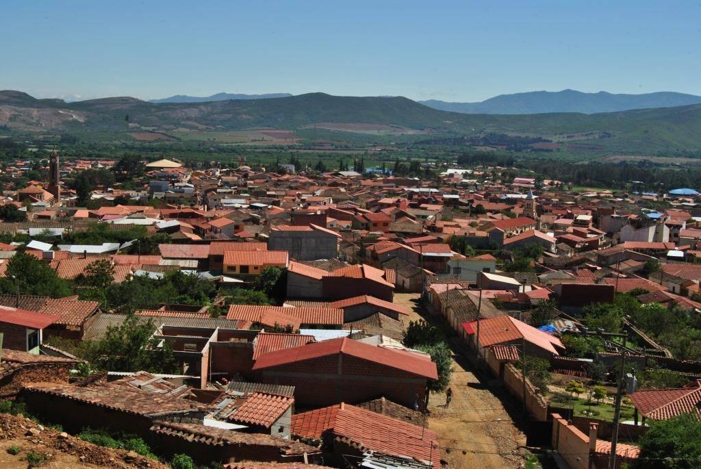 Vista panorámica de Vallegrande.