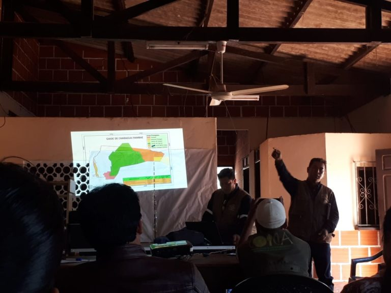 Líderes guaraníes piden sumarse al comando de lucha contra los incendios para defender sus áreas protegidas